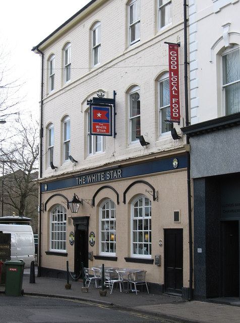 Stoke-upon-Trent - The White Star