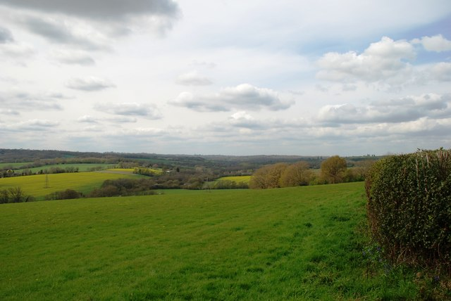 View towards Puckstye Farm
