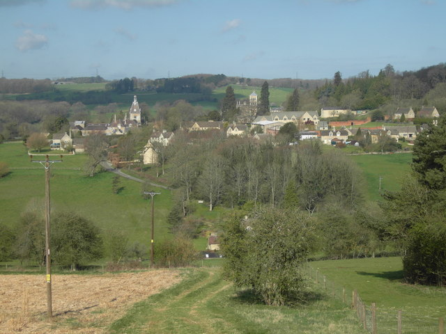 Rendcomb from the east