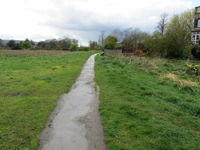 Start of the Six Dales Trail