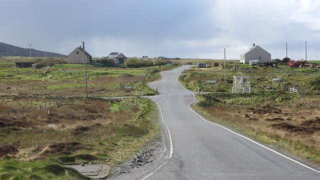 Crossroads at Mingearraidh
