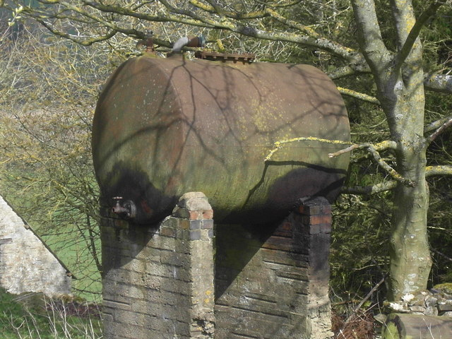 Old Oil Tank, Green Meadow Farm