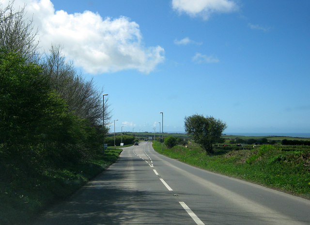 Approaching Mullacott Cross