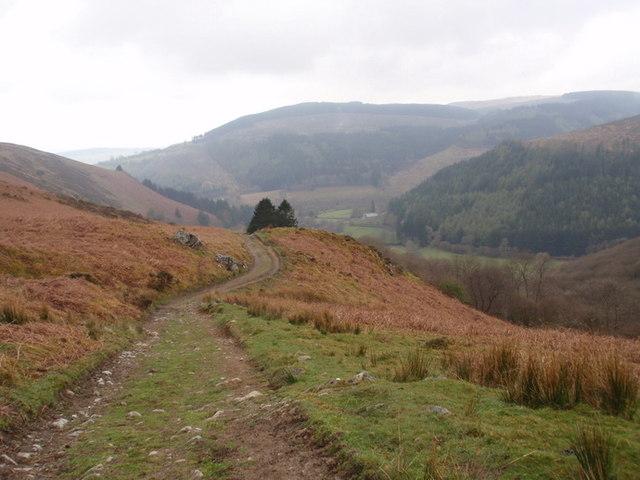 Hen heol Llanwrtyd old road