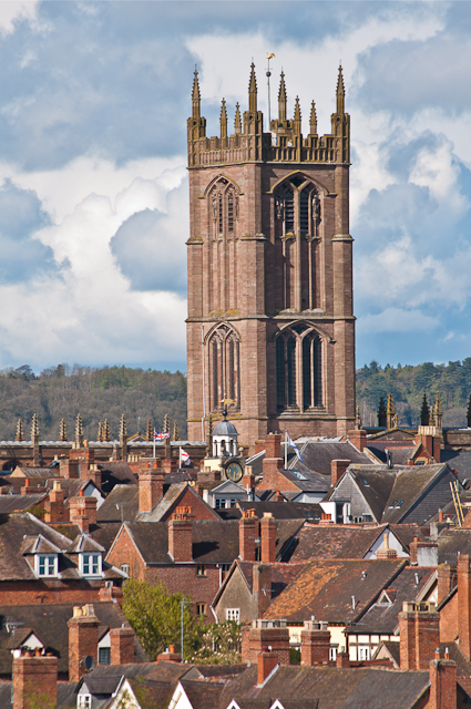 St Laurence's Church, Ludlow