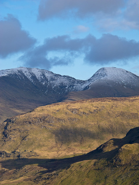 An Stuc and Meall Garbh