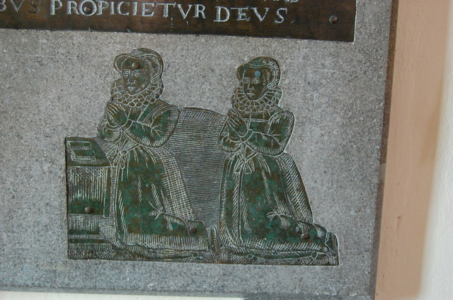 Daughters of Thomas Gage, Firle church