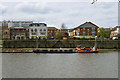 TQ2177 : Lifeboats on Chiswick Pier by Robin Webster