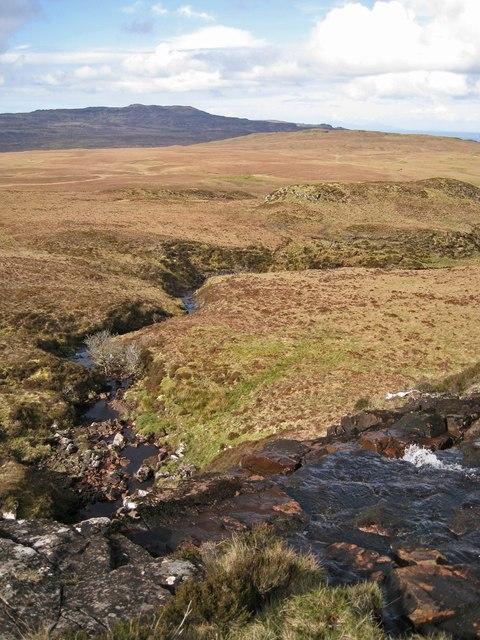 Waterfall in the Allt Beul-àth nan Sachd