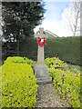 TF3985 : A War Memorial at Little Carlton by Ian S