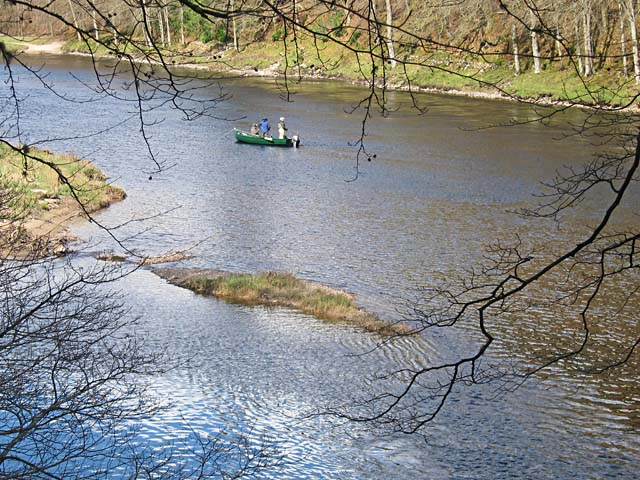 Fishing on the Tay