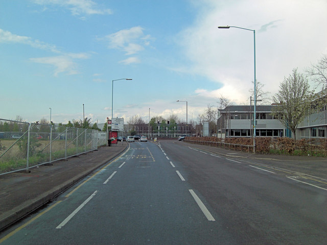 Southall Lane junction with Hayes Road