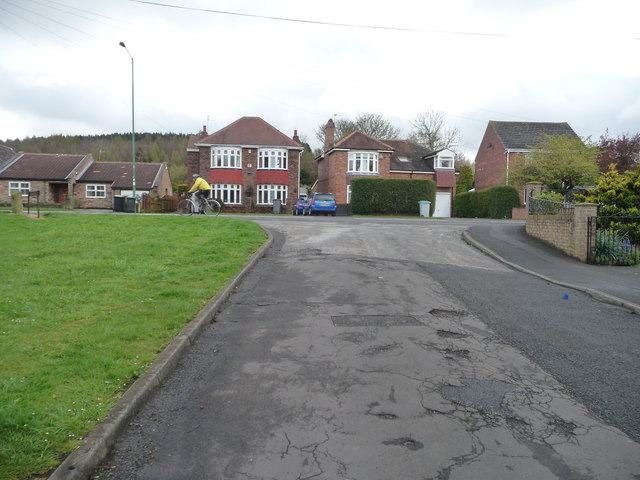 Houses on Front Street, Burnopfield