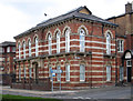 SJ8745 : Stoke-upon-Trent - Library - north building by Dave Bevis