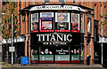 J3374 : &quot;Titanic&quot; bar, Belfast by Albert Bridge