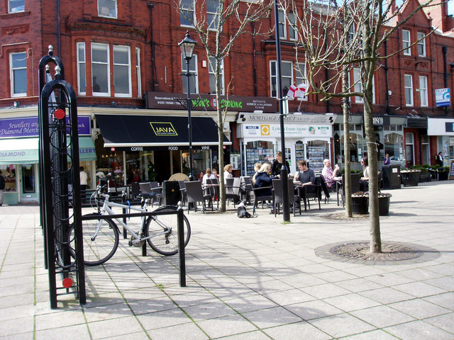 Coffee in Lytham Square
