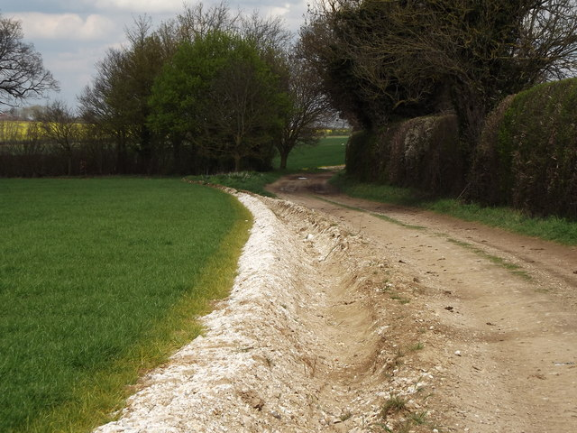 Bridleway by Pudding Copse