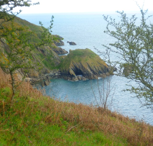 A Natural Arch near Pudcombe Cove