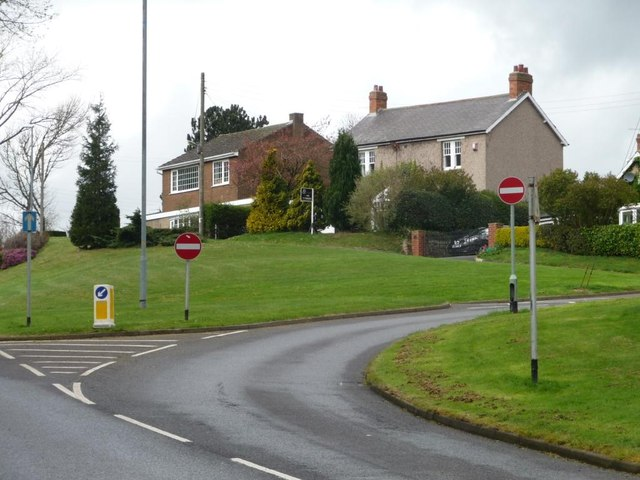Houses on Stirling Lane, Rowlands Gill
