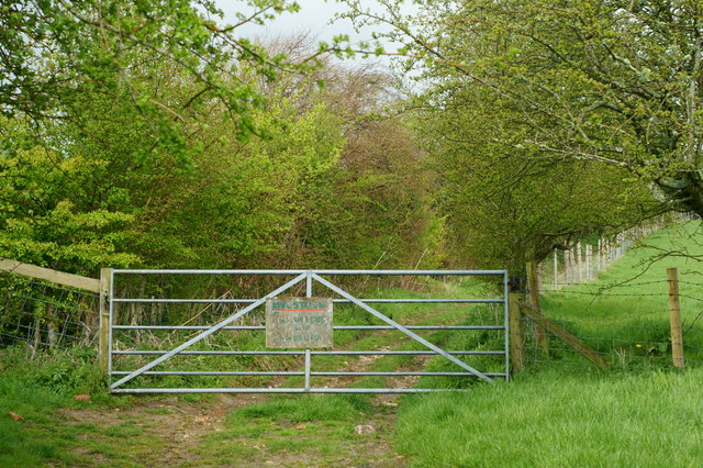Gate on the Byway, Kern, Isle of Wight