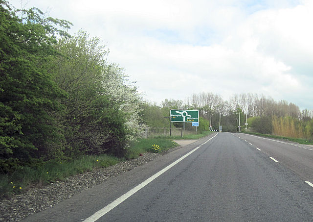Whitchurch by pass North end