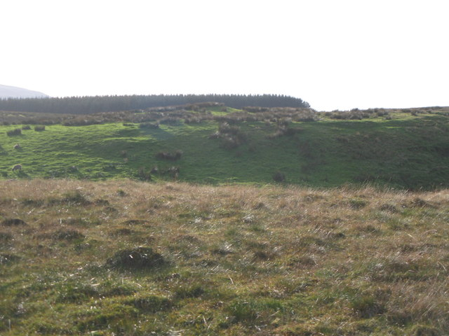 The cleugh of Black Dike