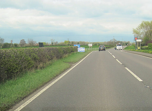 Cholmondeley Cross roads A49 North