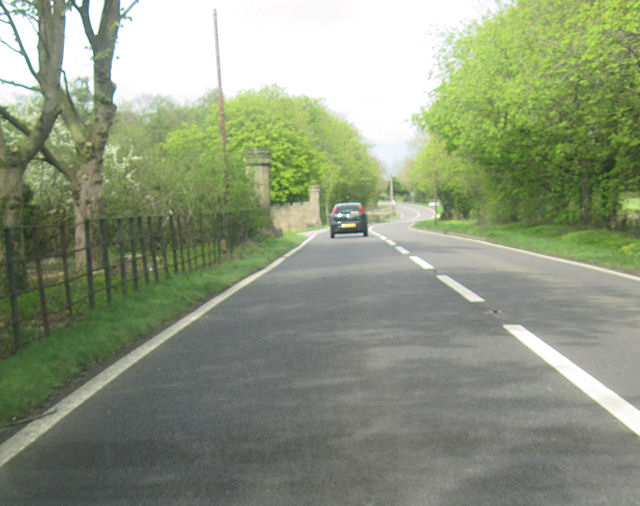 A49 north at Beeston Lodge