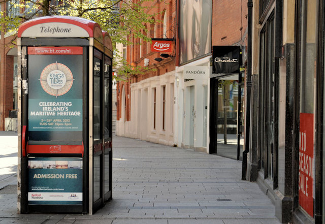 Telephone boxes, Belfast (21)