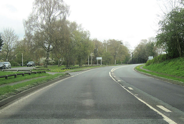 Huxley Lane junction Tiverton