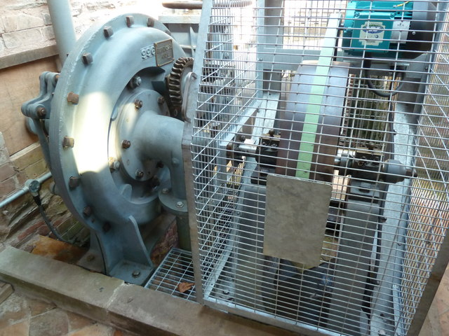 Hestercombe Gardens - water turbine