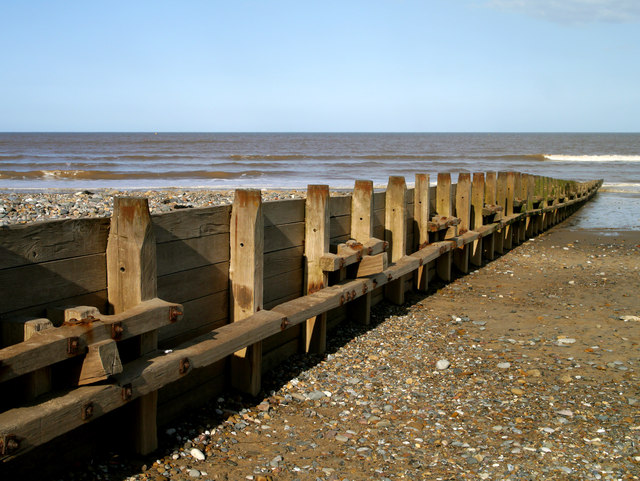 A Hornsea Beach Groyne