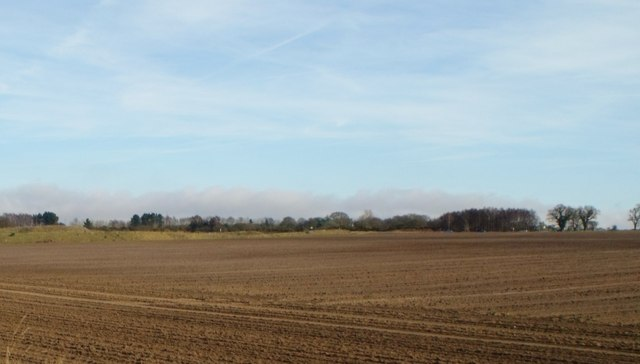 Ploughed field west of Blythborough