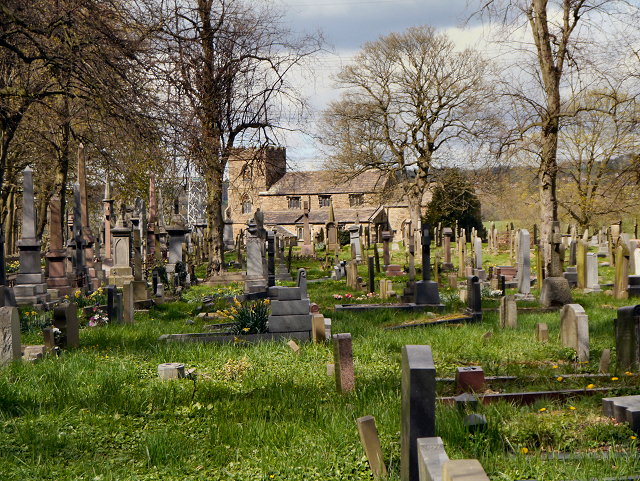 St James' Parish Church and Graveyard.