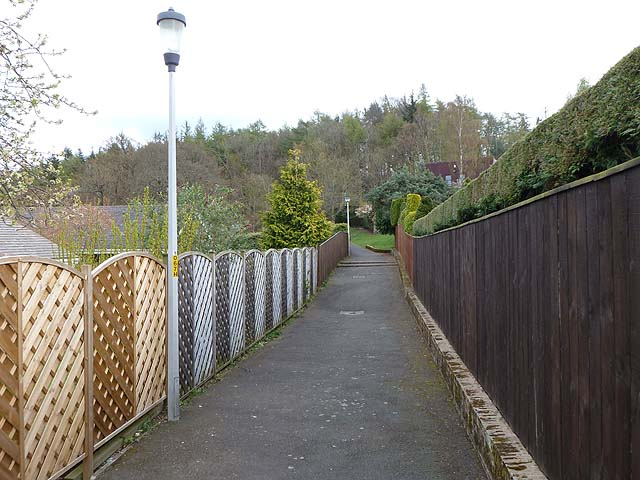 Walkway in Hackwood Park