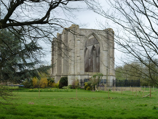 Wykeham Chapel (remains of) near Spalding