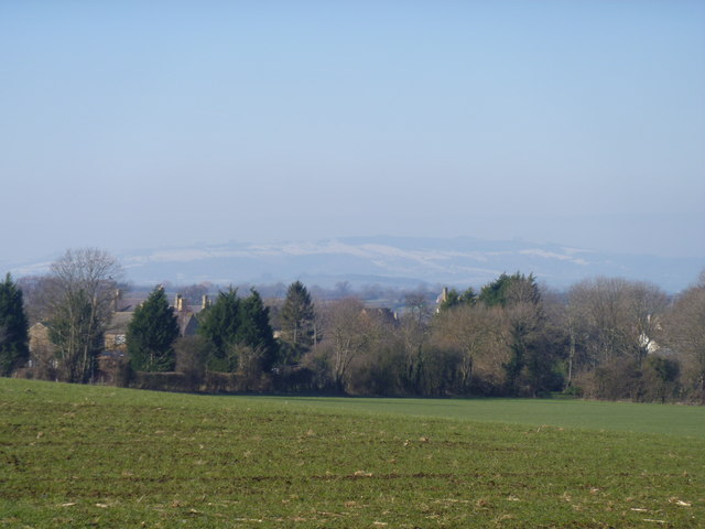 View to Bredon Hill
