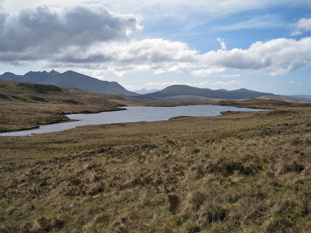 Rèidh nan Loch - largest lochan