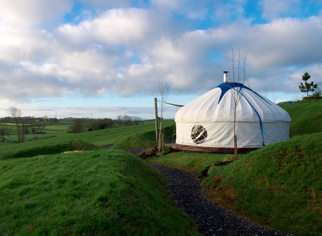 Yurt near Markethill