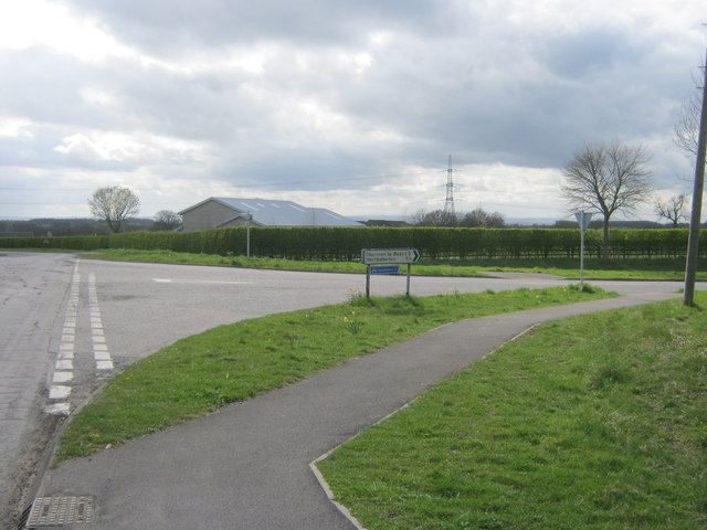 Allerton Wath Road joining Oaktree Bank
