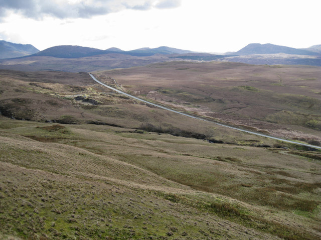 A863 towards Drynoch
