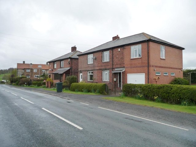 Jubilee Cottages, Lead Road, Coalburns
