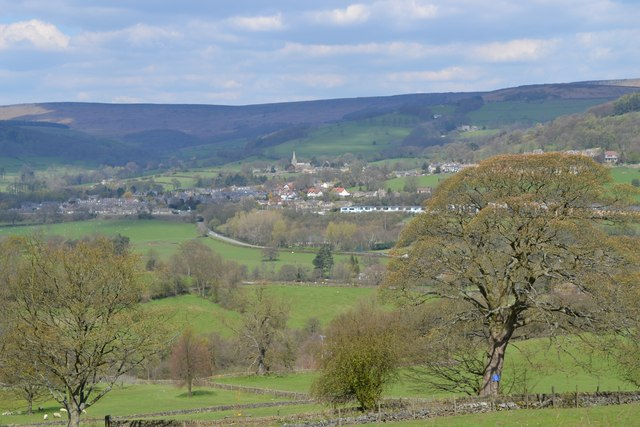 View to Hathersage from Hazelford