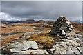 NG8621 : Cairn on  Beinn a' Chuirn : Week 15