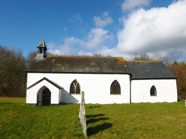 Llanynis historic church