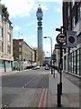 TQ2882 : Cleveland Street by David P Howard