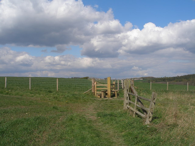 Stile on the Kirklees Way