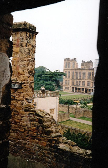 Hardwick Hall - from the Old to the New