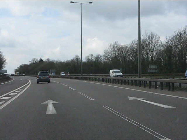 A46 south of Stivichall junction
