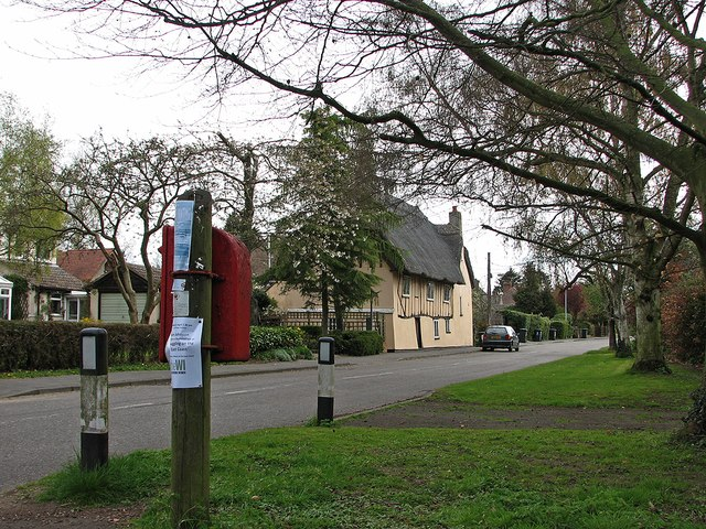 Little Abington postbox, Church Lane